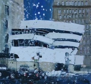 Frank Lloyd Wright\'s Guggenheim Museum - New York