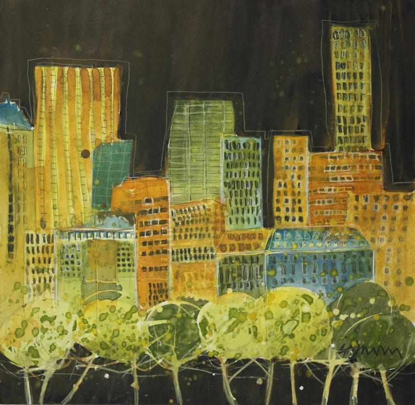 City Stalagmites II