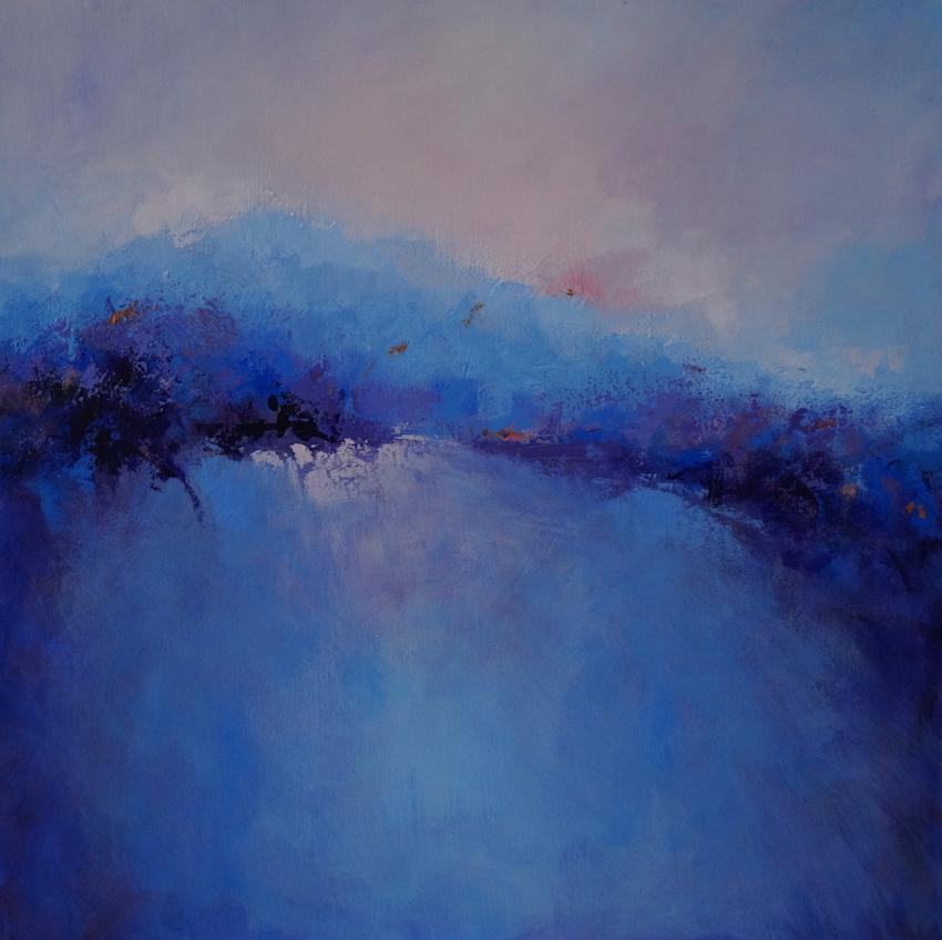Misty Blue Peaks