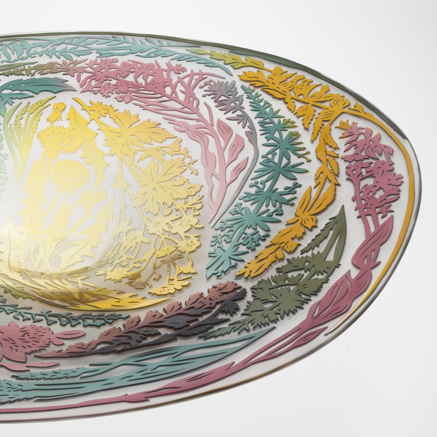 Meadow Dish Detail