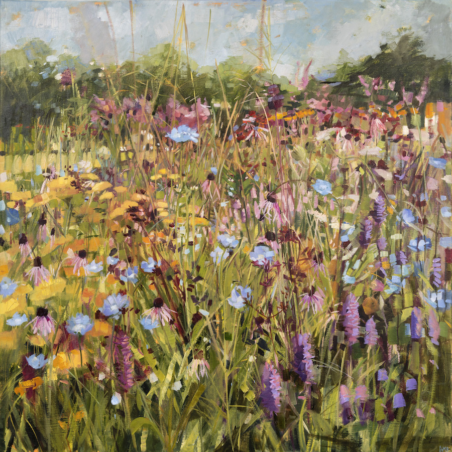 Summer Field and Scabious