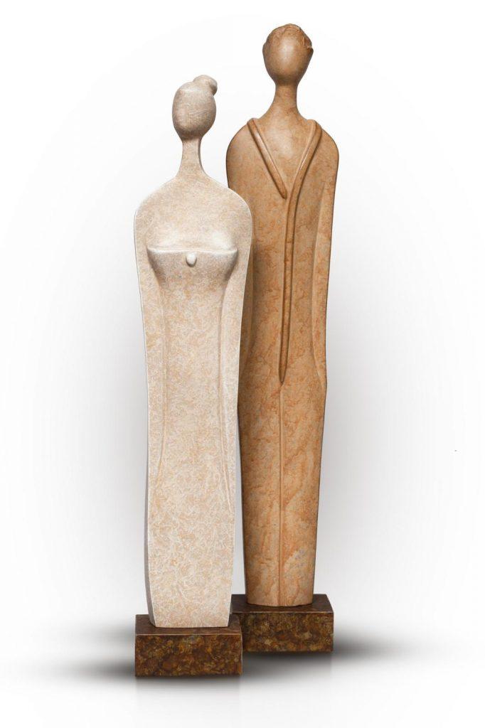 Jan and Nina (Polyester)