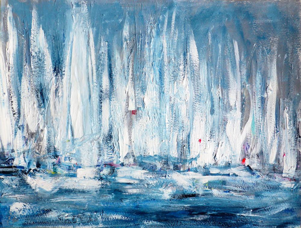 Start Line (White Sails) VII